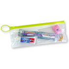 "SmileGoods Child Patient Pak in a handy 4"" x 10"" clear vinyl zipper bag"