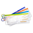 "SmileGoods Patient Paks, empty 4"" x 10"" clear vinyl zipper bag for you to fill"