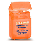 SmileGoods Unwaxed Dental Floss, coordinates toothbrushes and maximizes your