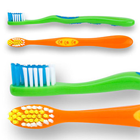 SmileGoods Y311 Child Toothbrushes, 72/Bx. Soft, 31 tufts, flat-trimmed