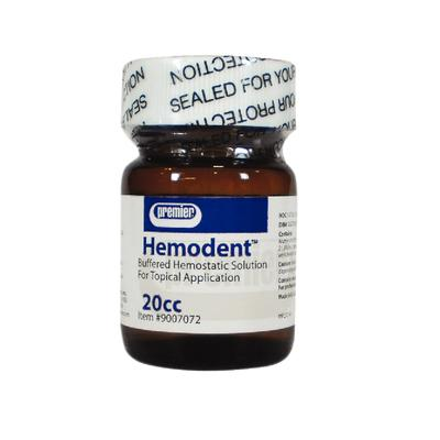 Hemodent 20 cc Liquid, Buffered Aluminum Chloride