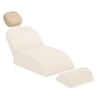 Premium Plus Patient Chair Headrest Cushion, Light Beige, Universal fitting