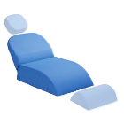 Premium Plus Child Seat cushion, Blue, Part B, Universal fitting. Soft vinyl