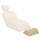 Premium Plus Patient Chair Backrest/Knee Support Cushion, Light Beige