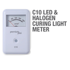 Premium Plus LED & Halogen Curing Light Meter. Simple, compact design for easy