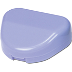 "Premium Plus Retainer Boxes with hinged lid in Assorted Colors, 3""W x 2 3/4""D x"
