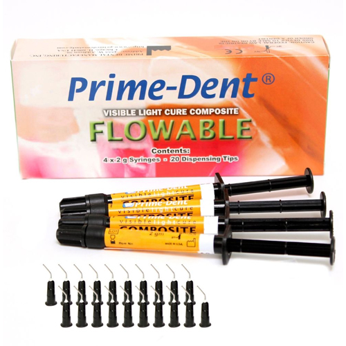 Prime-Dent Flowable Composite C1 - 4 Syringe Kit.