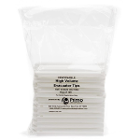 Primo HVE High Volume Evacuation Tips, 100/Pk. Vented One Side, Disposable