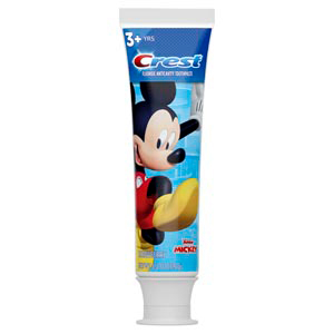 Crest Kid S 3 Toothpaste Mickey Character Graphics