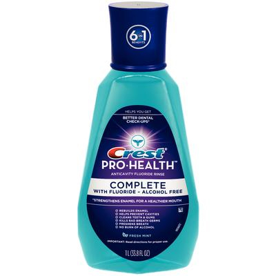 Crest Pro-Health Complete Mouthwash with fluoride