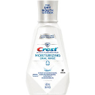 Crest Moisturizing Oral Rinse, 500ml, 4 bottles/case. Alcohol-free mint flavor
