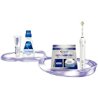 Oral-B Power Toothbrush Pro 3000 with Whitestrips Bundle, 1/pk. Crest