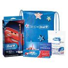 Oral-B Kid's 3+ Disney Cars Power Toothbrush Bundle, 3/Pk. Contains: Electric