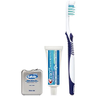 Oral-B Daily Clean Solution Bundle, 72 patient bags/case. Includes: Complete Deep Clean Toothbrush