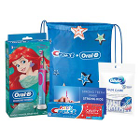 Oral-B Kid's 3+ Disney Princess Power Toothbrush Bundle, 3/Pk. Contains