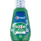 Scope Mouthwash, Original mint flavor. Case of 48 - 36 ml Bottles