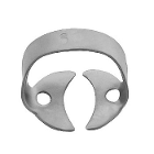 ProDent USA Clamp #60 for Large Molars, Wingless, Smooth. Stainless steel
