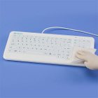 PureKeys Medical Keyboard - Silicone Keyboard. Easy-to-clean keyboard provides