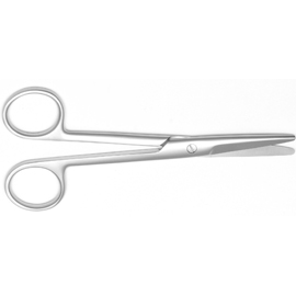"""6 3//4/"""" Straight Mayo Style Scissors Stainless Steel Autoclavable"""