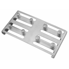 ProDent USA Rubber Dam Clamp Organizing Board. Holds up to 8 clamps during sterilization, Fits