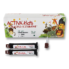 Activa Kids Bioactive ionic restorative resin, value refill: 2 x 5ml (8g)