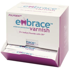 Embrace Varnish, 5% Sodium Fluoride with CXP - 50 x 0.4 mL Unit