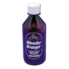 Wonder Orange solvent, 8 ounce plastic dispenser bottle. All natural cleaning