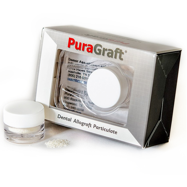 PuraGraft 2.0 cc Mineralized Cancellous Allograft Particulate 250-1000 mic