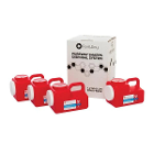 PureWay Sharps Disposal System - Multipack. 4 - 1.2 gallon containers, Pre-paid