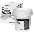 PureWay Amalgam Waste Recycling System. 1.25 Gallon bucket, shipping box &