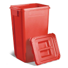 PureWay Sharps Disposal System. 18 gallon container. Pre-paid UPS return