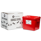 PureWay Sharps Disposal System. 8 gallon container. Pre-paid UPS return