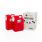 PureWay Sharps Disposal System - Multipack. Two 3 gallon containers, shipping