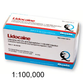 Quala Lidocaine HCL 2% with Epinephrine 1:100,000