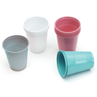 Quala Dusty Rose 5 oz. Plastic Cups, Case of 1000