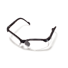 Quala Safety Glasses, Contemporary Style 1/Pk. Stylish wraparound design hugs