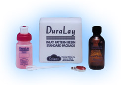 DuraLay Inlay Resin Standard Package - Red: 2 oun