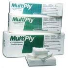 "MultiPly 2"" x 2"" 8-ply Non-Woven Sponges 3000/Cs. Non-Sterile"