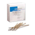 "Richmond 3"" Cotton Tipped Applicators, Non-sterile, wood shaft with single"