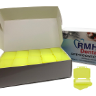 RMH3 Dental Orthodontic Wax Banana Scented 50 x 5 Stripes/Box. White wax strips