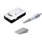 Saeyang K-38 Portable MicroMotor (White/Clip) - Complete set. Comes