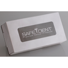 Safe-Dent facial tissues, 2 ply, 100pcs/bx, 30bx/case, white tissues, Grey