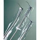 "Safe-Dent 2.5"" x 10"" Clear Syringe Sleeve Covers, Fits most 3-way air/water"