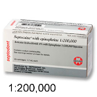 Septocaine Articaine HCl 4% with Epinephrine 1:200,000. Box of 50 - 1.7 mL