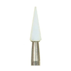 Dura-White CN1 pointed cone CA (contra angle), 12/pk, aluminum oxide finishing
