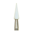 Dura-White CN1 pointed cone HP (handpiece), 12/pk, aluminum oxide finishing