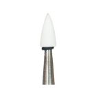 Dura-White FL3 flame HP (handpiece), 12/pk, aluminum oxide finishing stones