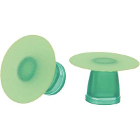 Super-Snap X-Treme Polishing Disks, Green, Fine, Standard, 50/Pk