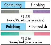 Super-Snap Polystrips Green/Red (Fine/Superfine),