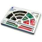 Super-Snap Rainbow Technique kit of 180 Discs and Mini-Discs, 40 Polystrips